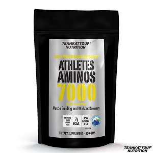 ATHLETES AMINOS 7000-BLUE RASPBERRY